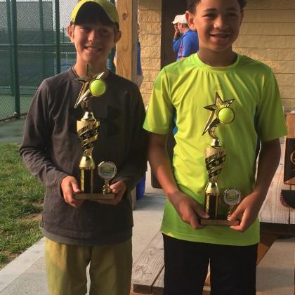 OVTA District Doubles Champions