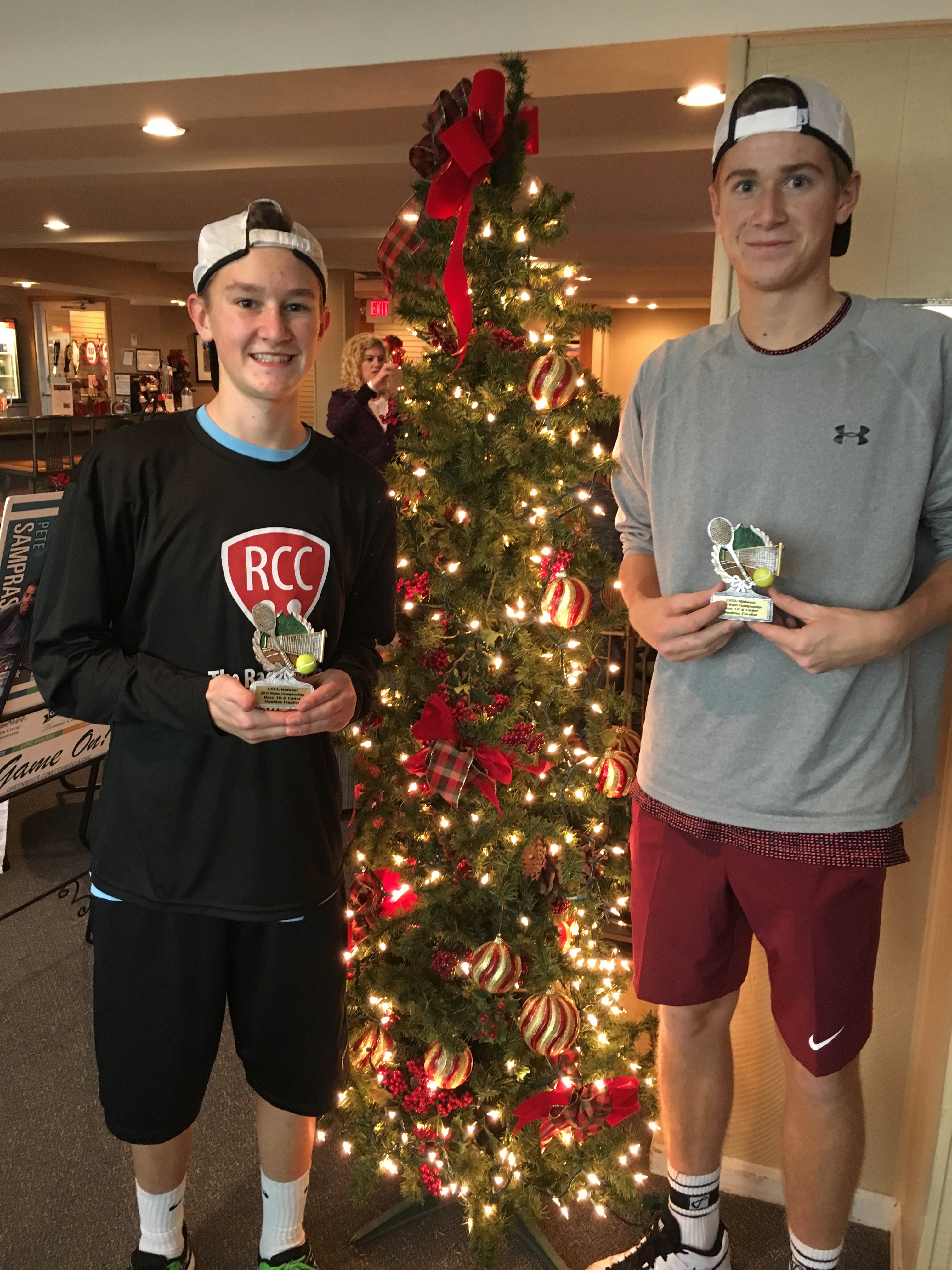 Midwest Winter Doubles Finalists
