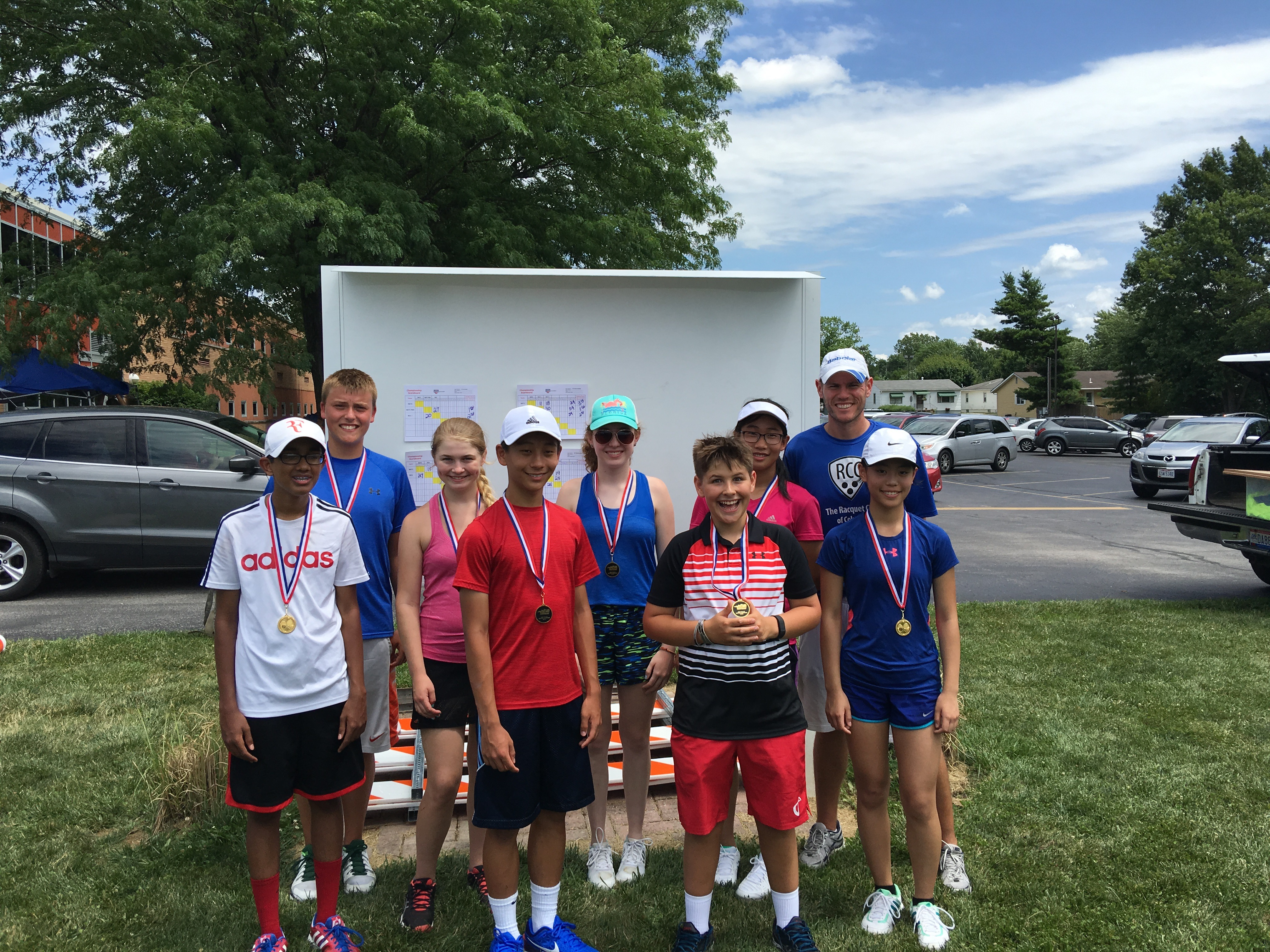 Junior Team Tennis Districts