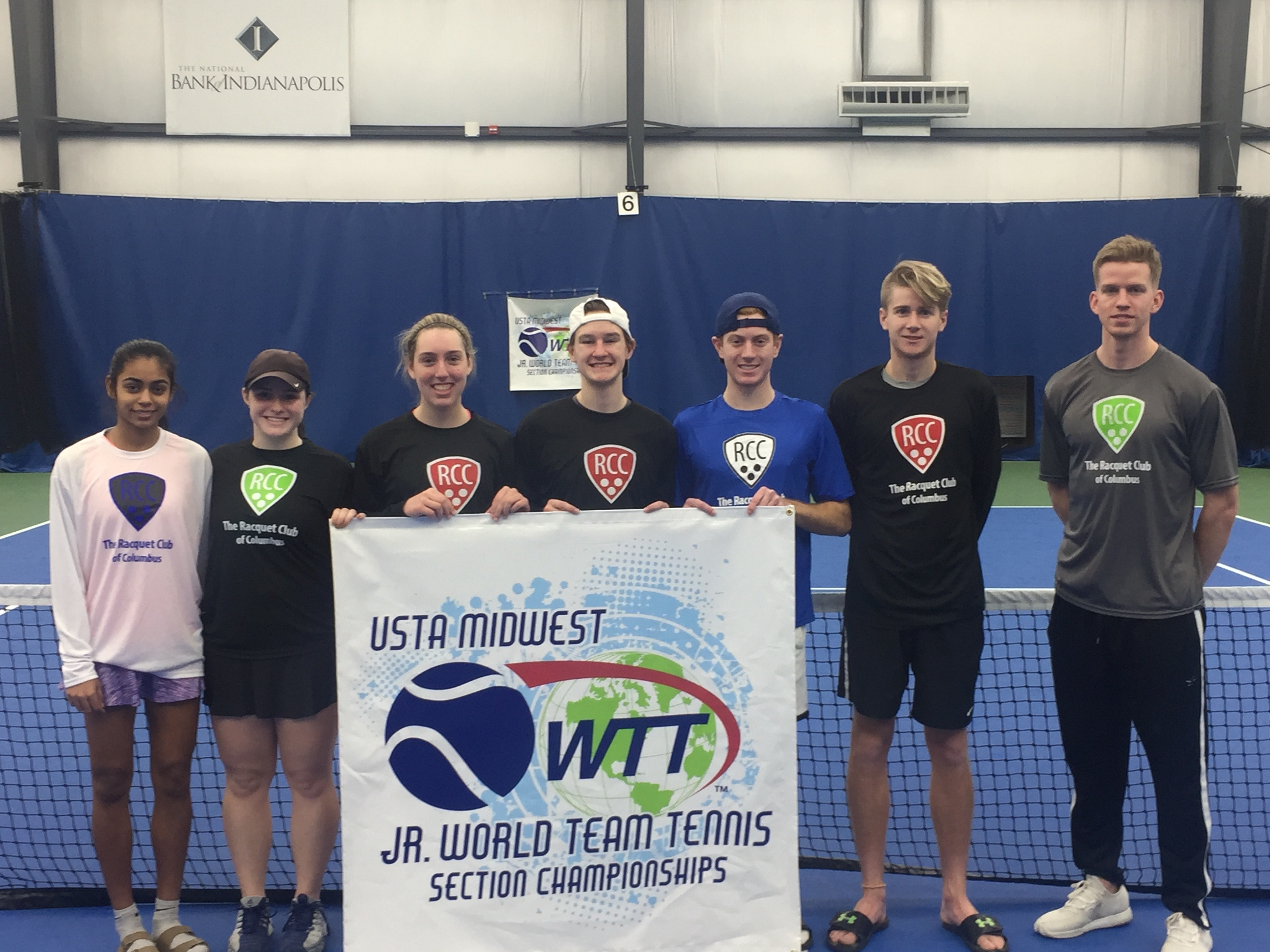 Junior World Team Tennis Midwest Champions